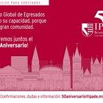 ¡Conmemoremos juntos el #IPADE50Aniversario!