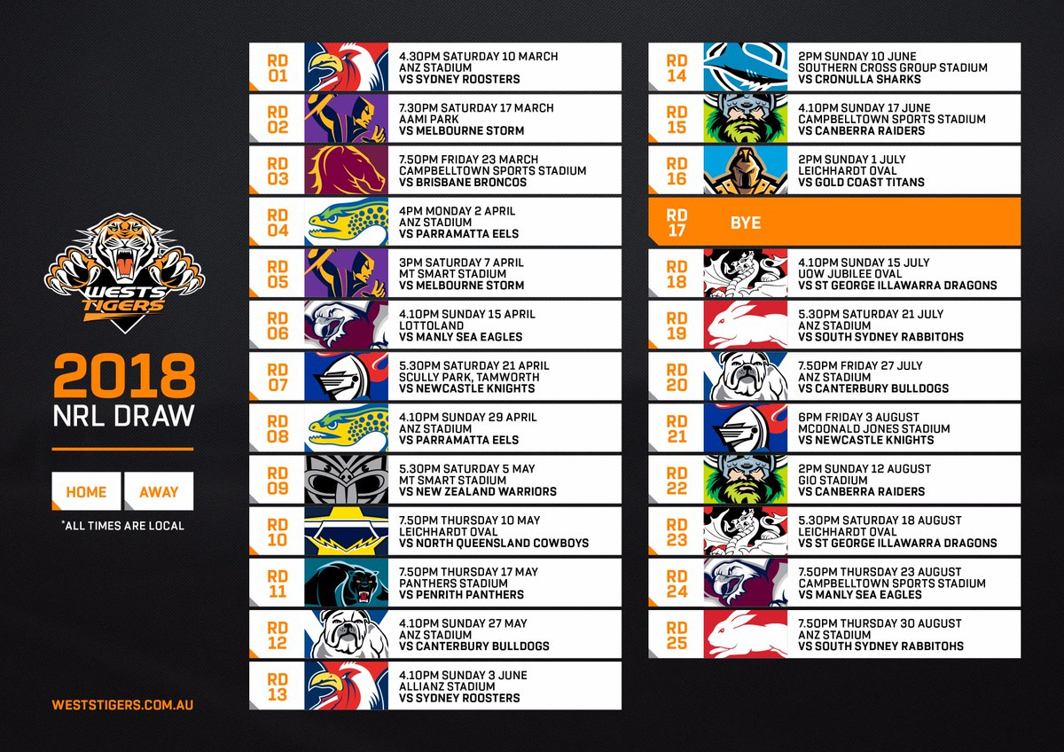 Download your 2018 #NRL Draw!  📲 ≫ https://t.co/HD1U2xkUAD https://t.c...