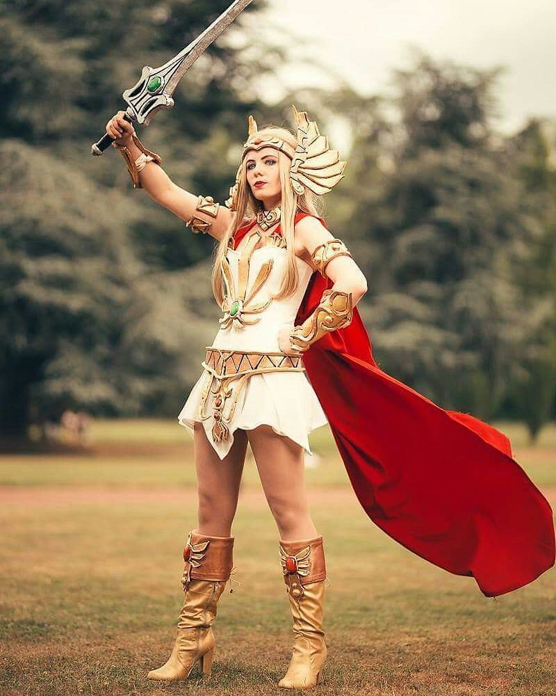 #Cosplayer @nikcku_cosplay with an epic #SheRa. #cosplay #cartoons #heman  @nikcku_cosplay -  New SheRa #picture! …  https://www. instagram.com/p/BaaCP0wAK5w/  &nbsp;  <br>http://pic.twitter.com/Bw6TEAGOJq