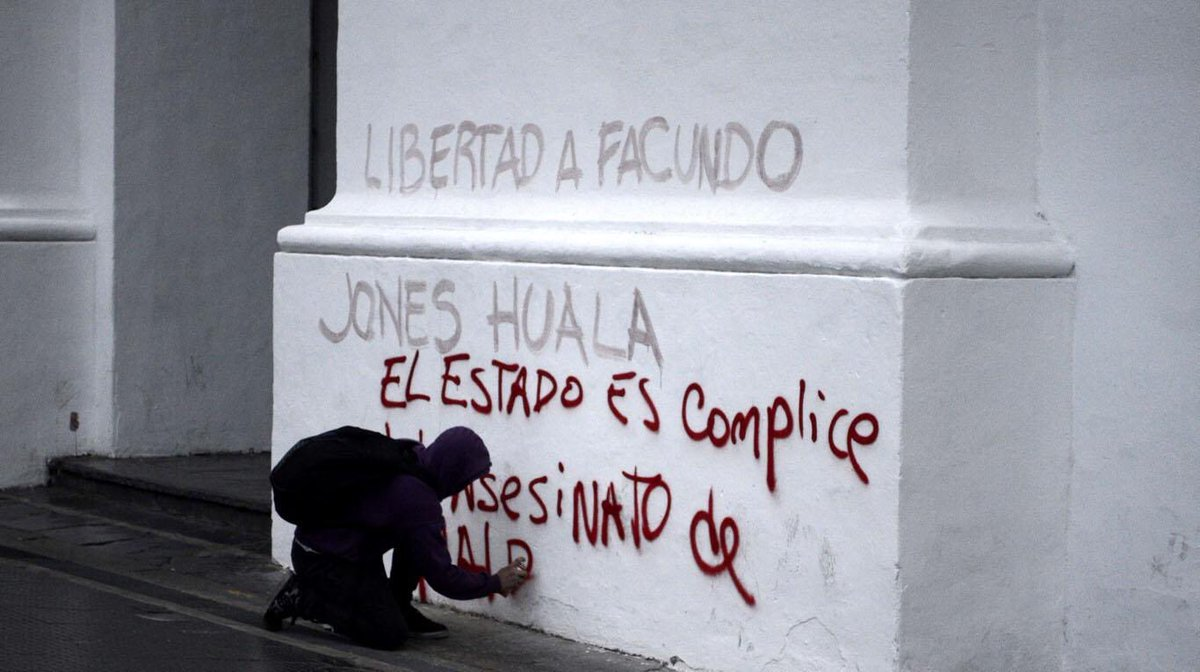 Los mismos que vandalizan el Cabildo son...