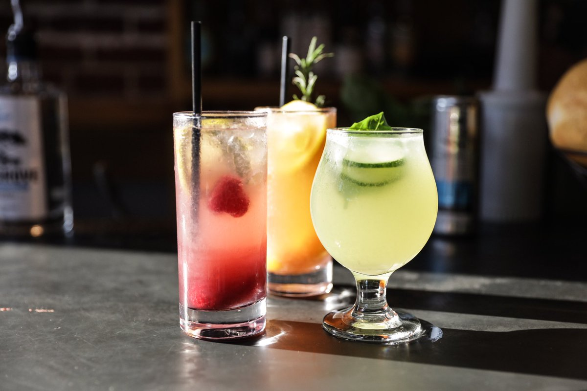 Come try one of our new cocktails like the Big Lou, Mulholland Gin Fizz and the Patty V Gin &amp; Juice! #santamonica #thirstythursday <br>http://pic.twitter.com/bwEHIsH8KZ