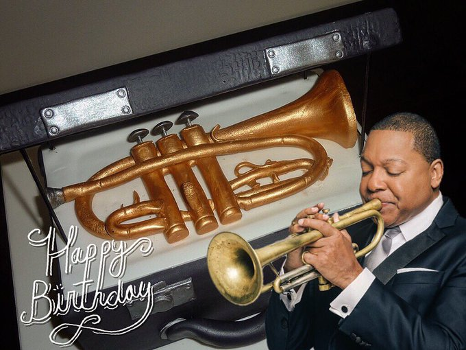 Happy birthday to Wynton Marsalis! Have a great day sir