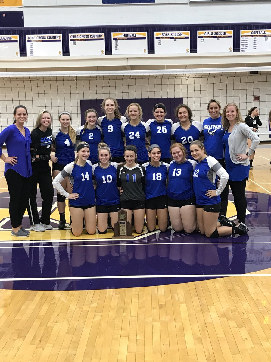 With a 3 set sweep over Campbell Co, the Scott Lady Eagles take the District Championship! #4Peat #Eagles #ETS<br>http://pic.twitter.com/NquD5e9pva