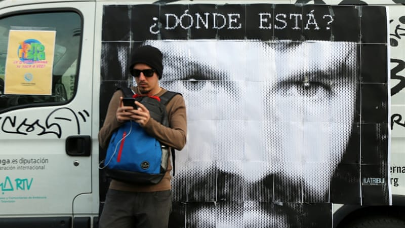 Investigator says body found in a river in southern Argentina is possibly of missing activist Santiago Maldonado https://t.co/ajCoK1BOfJ