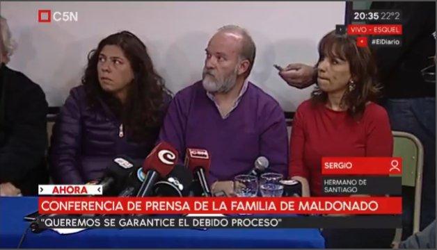 Sergio Maldonado: 'Yo creo que ese cuerpo fue plantado, porque anterio...
