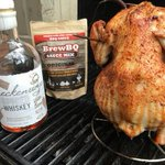 Sipping @breckdistillery and grilling beer can chicken. See the recipe on the blog! https://t.co/70Yh0QnPql #WhiskeyWednesday #BrewBQ #grill