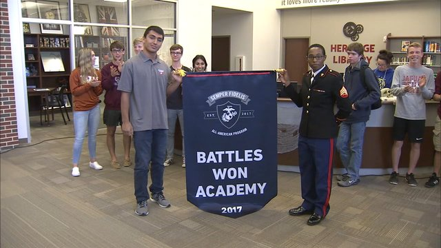 Midlothian student excels in Marine Corps academy https://t.co/NCTl628gPj