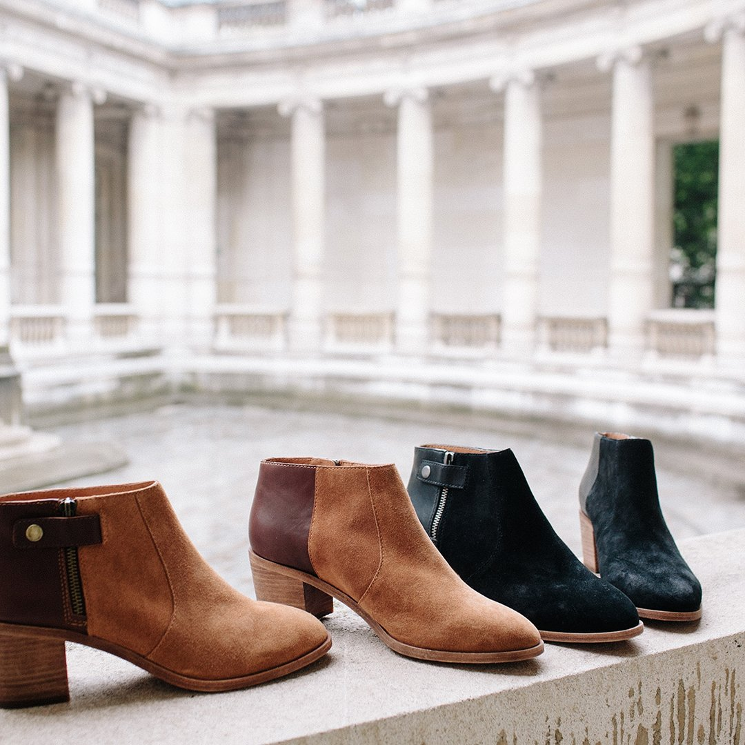 68e9831ac60 twofer love the leather and suede mix on our alicia boot wellheeled