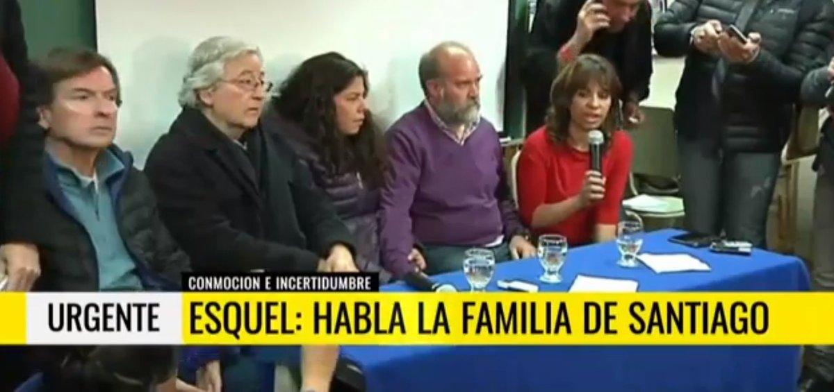 Habló la familia de Santiago Maldonado: 'El cuerpo no ha sido identifi...