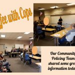 Thank you to our Community Policing Team for a great Coffee with Cops morning! @AnaheimPD  #LoaraLeopards