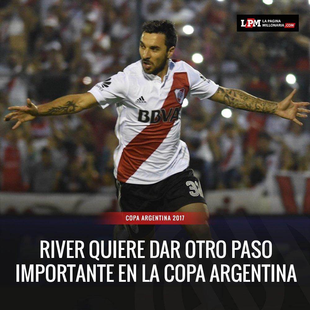 ¡Empezó el partido! #River ya juega ante Atlanta por la Copa Argentina...