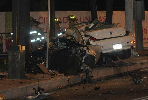 Conductor de BMW que se estrelló en Reforma podría salir de prisión ht...