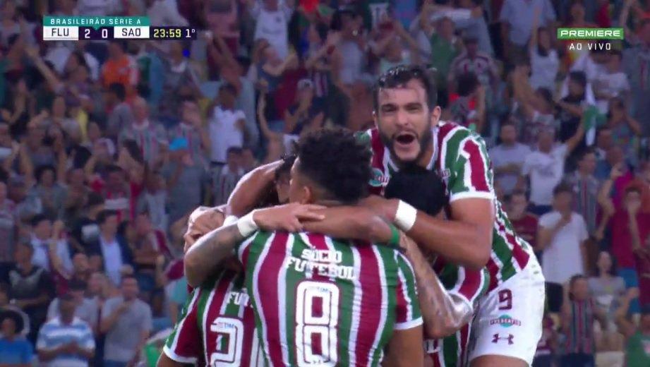 Gol do Fluminense! Sornoza amplia, agora 2 a 0 sobre o São Paulo https://t.co/LgBctEGy6a