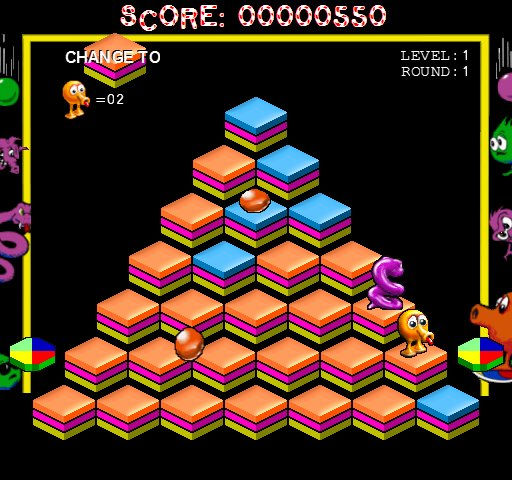 Qbert 1.0- Free remake of the popular 80s arcade game in full screen.  https:// buff.ly/2yzGLX0  &nbsp;   #retrogaming #pcgaming @ShoutGamers  @HyperRTs<br>http://pic.twitter.com/tlO9ag34Hp