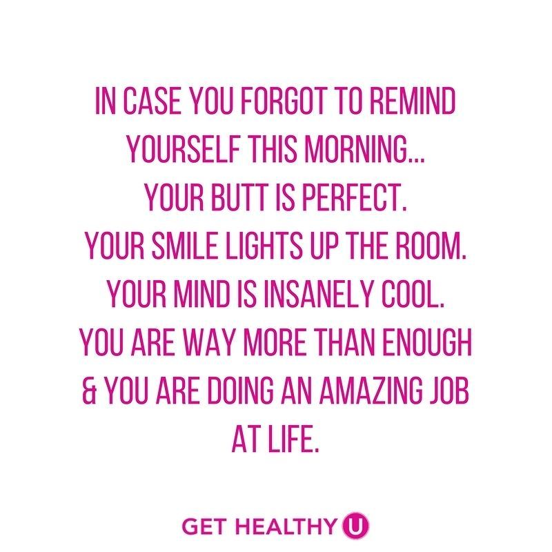 Having a rough day? Well - I want to remind you - you are perfect the way you are! Life is messy and crazy but als… https://t.co/5CJgKmMZ2Q