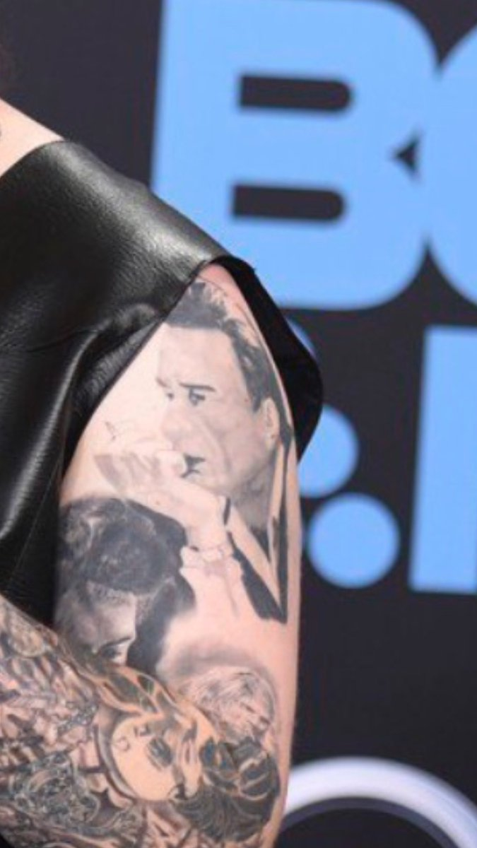 Sonja Yelich On Twitter I Love Post Malone S Johnny Cash Tattoo
