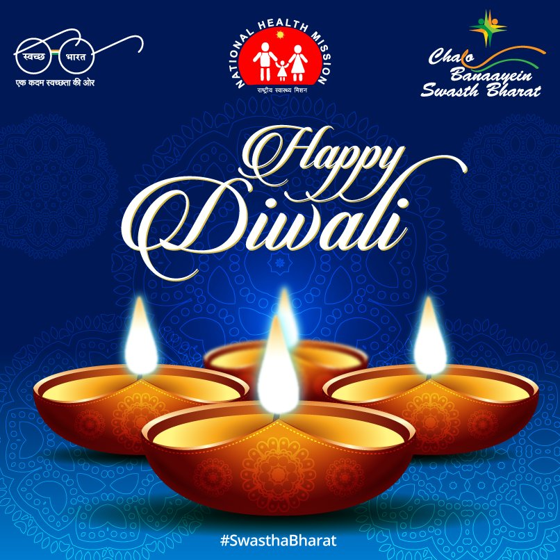 On the occasion of #Diwali , we wish you all peace, happiness and good #health. #SwasthaBharat <br>http://pic.twitter.com/himZBWXnYC