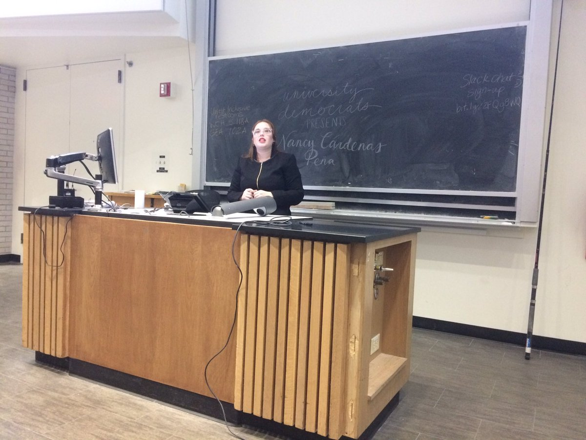 Great presentation by @ncardenastx on #reproductivejustice &amp; #intersectionality at @UDems. Up to us to fight for reproductive health @NLIRH<br>http://pic.twitter.com/8SrxRYpYpM