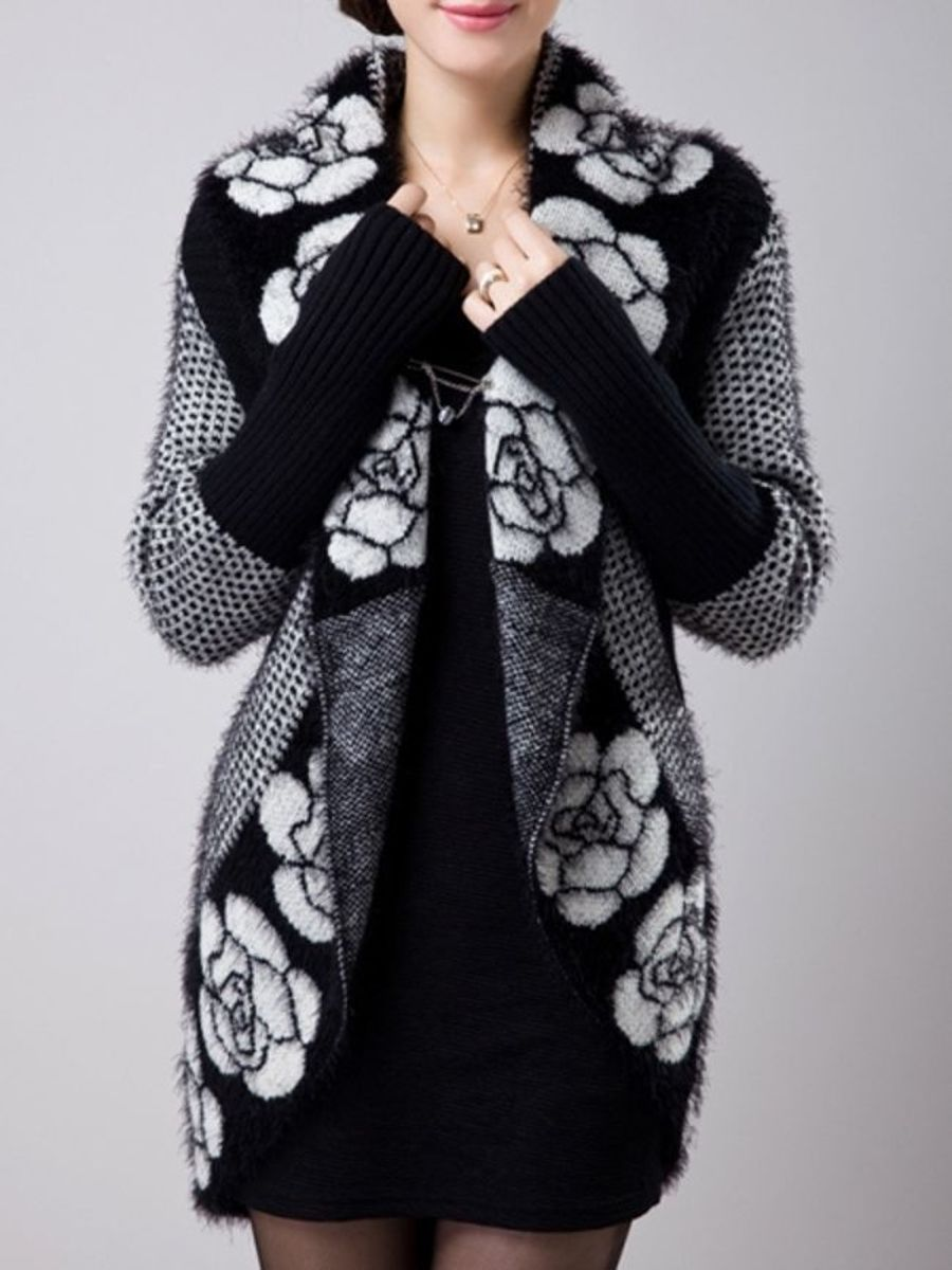 Attractive Collarless Printed Cardigan |   http:// ow.ly/DSSc30fXulU  &nbsp;   #flockbn #87RT #fashion #fashionblogger #smartsocial #likeforlike <br>http://pic.twitter.com/mVwXkQwmxk