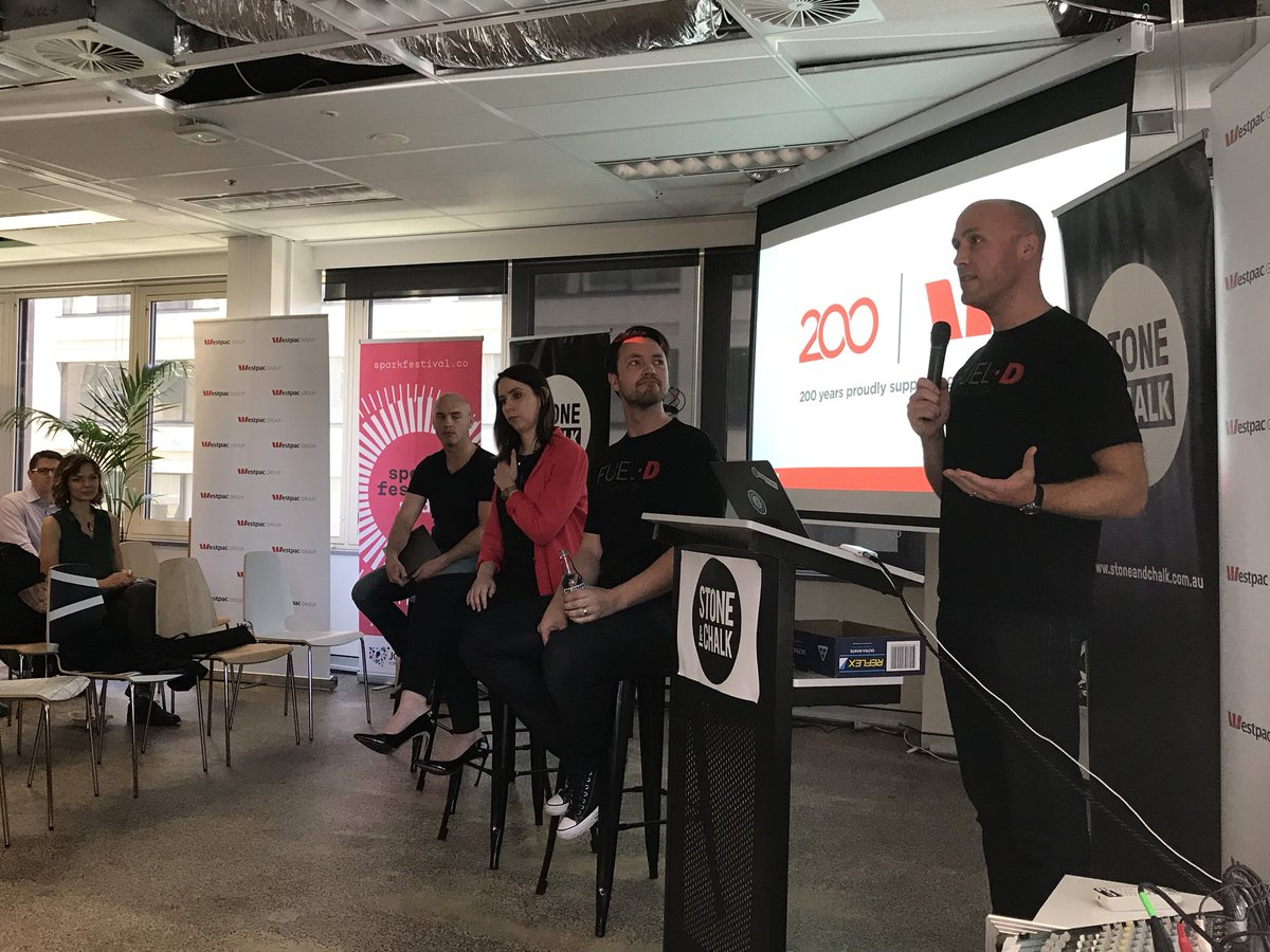 @rich_linstead @Westpac serves 95% of ASX100. Startups will have access to #data to solve key problems @FueldAU @stoneandchalk #startupaus