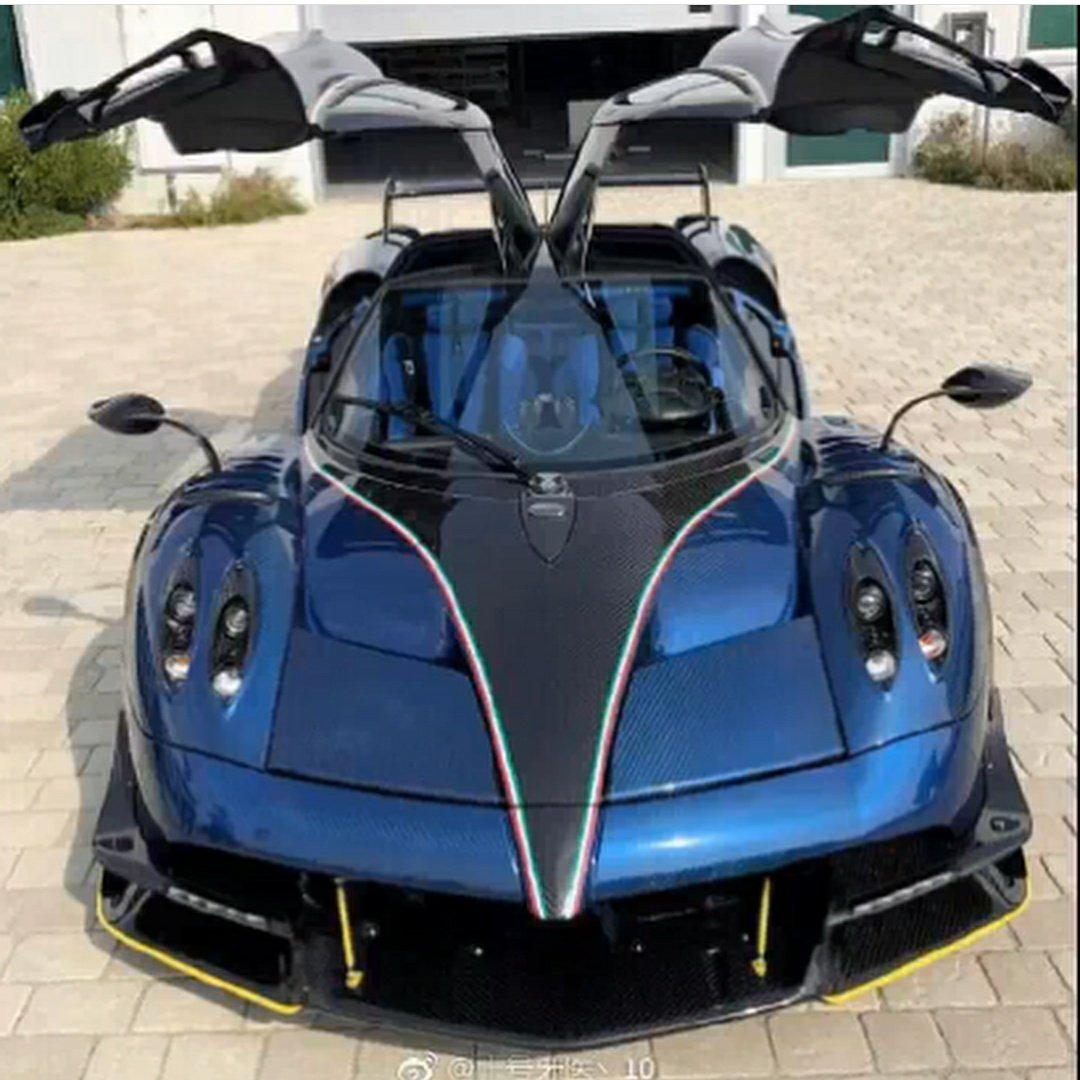 """inter & calcio on twitter: """"steven #zhang sulap mobil sport 'pagani"""