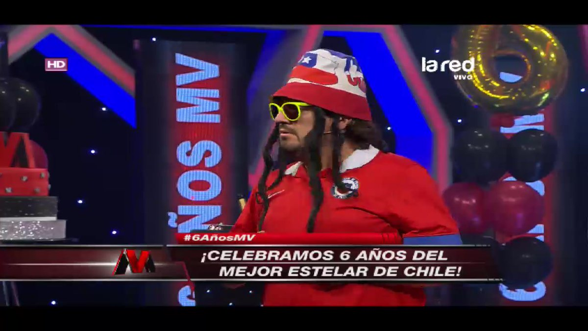 Así se presentó el 'Flaite Chileno' en el 'Sin Censura' #6AñosMV ->...