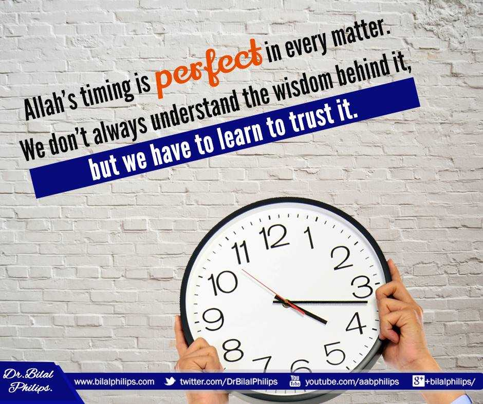 #Allah has perfect timing; never early, never late. It takes a little #patience and #faith, but it&#39;s worth the wait.<br>http://pic.twitter.com/GvcSdqVCIZ