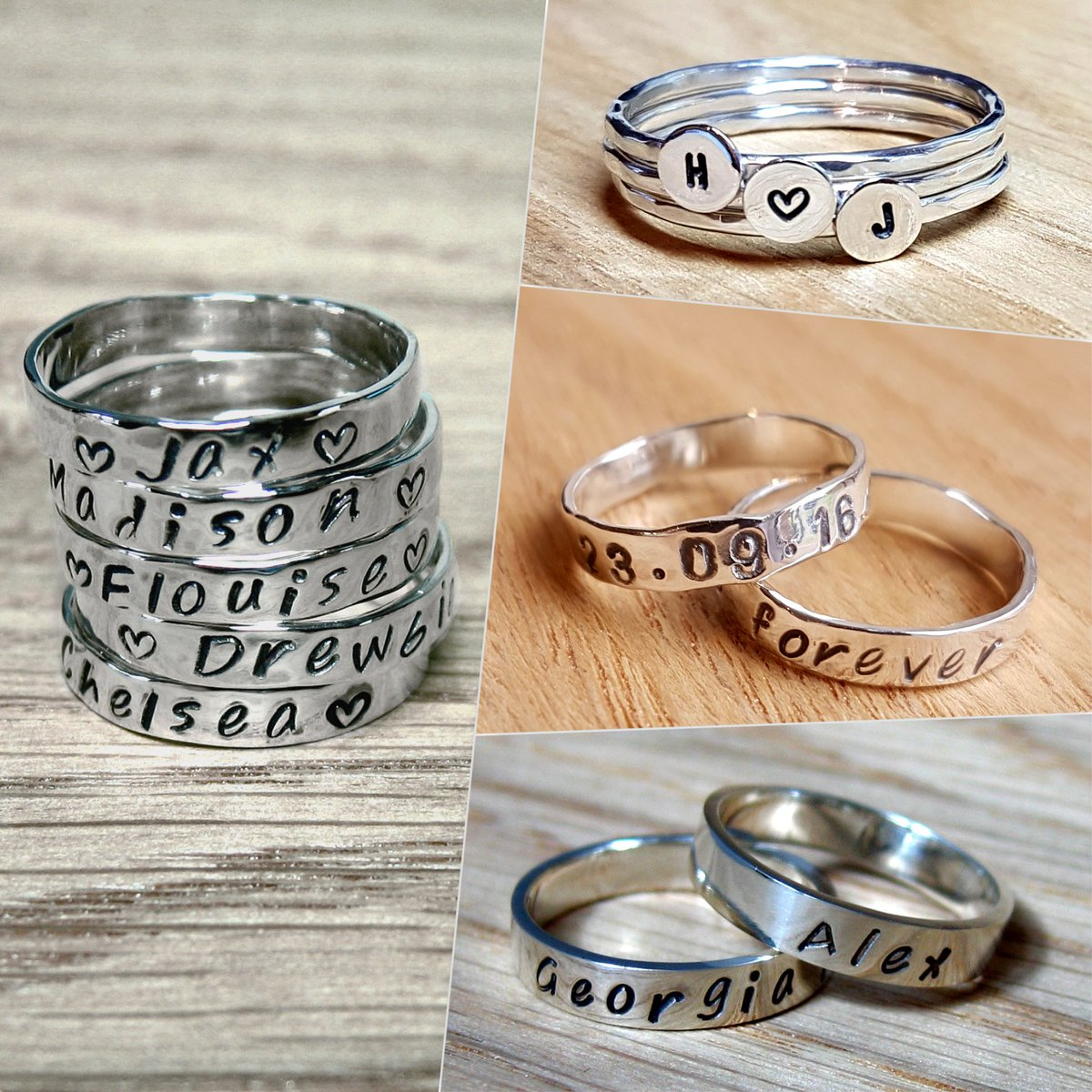 Add &#39;Your Story&#39; to these Sterling #Silver Story #rings  https:// mooi.biz/uandme_rings.h tml &nbsp; …  #earlybiz #handmade #personalised #xmas #giftsforher #gifts<br>http://pic.twitter.com/XFBkQifpfW
