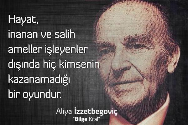 #TarihteBugün Büyük lider, Bilge Kral #Aliyaİzzetbegoviç 'in vefatı. (...