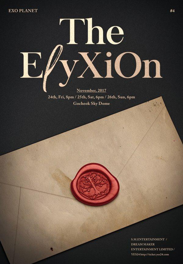 이번 공연 타이틀 'The EℓyXiOn'은 선택받은 자들만이 갈 수 있...