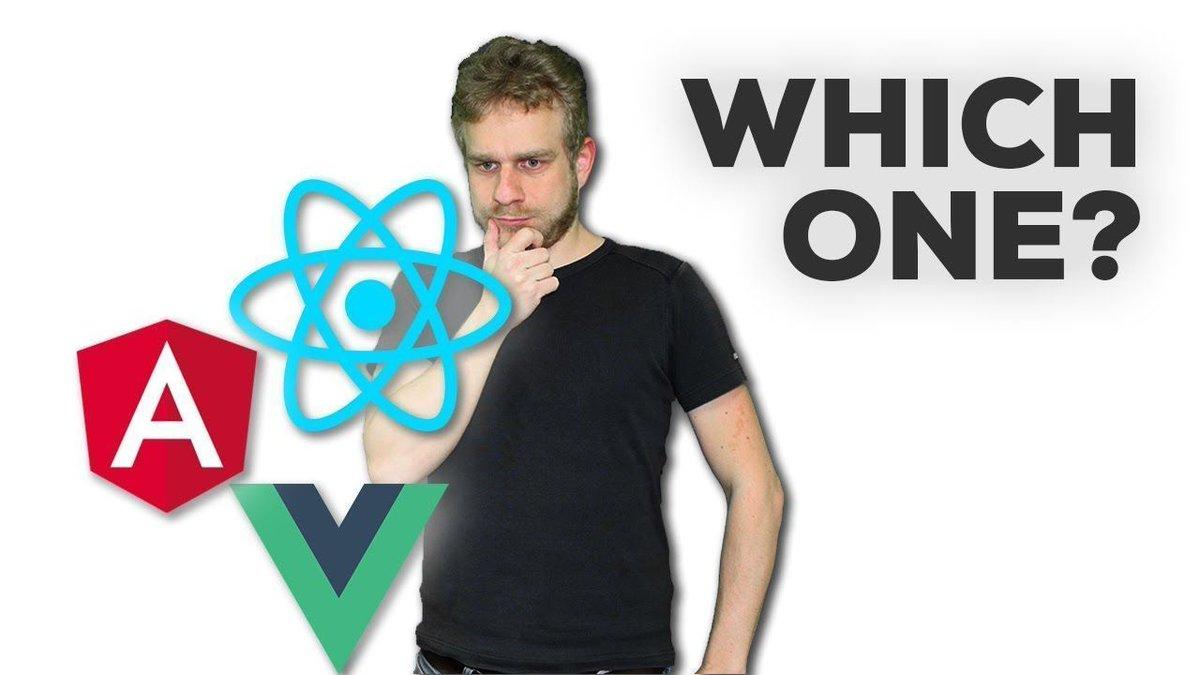 [VIDEO]: #Angular vs #ReactJS vs #VueJS - My Thoughts!  http:// bit.ly/2x6Hf3u  &nbsp;   via @YouTube #React #angularjs #javascript<br>http://pic.twitter.com/pnBkYgYATV