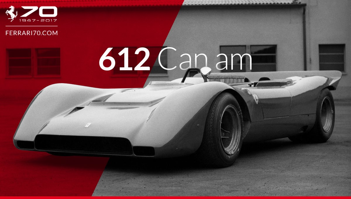 We'll take you to the year 1971 with the #Ferrari 612 Can Am:  http:// bit.ly/Garage_612CanAm  &nbsp;   #Ferrari70<br>http://pic.twitter.com/G8IaU2qo0S