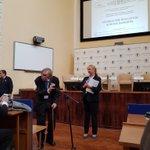 """100 ans apres la révolution d'octobre, on parle """"journalism éducation accross borders"""" à Moscou @IPJdauphine"""