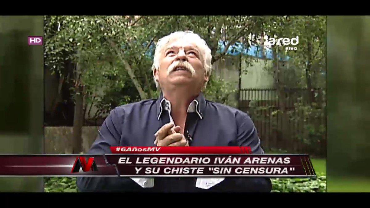 Iván Arenas no quiso quedarse afuera del 'Sin Censura' #6AñosMV ->...