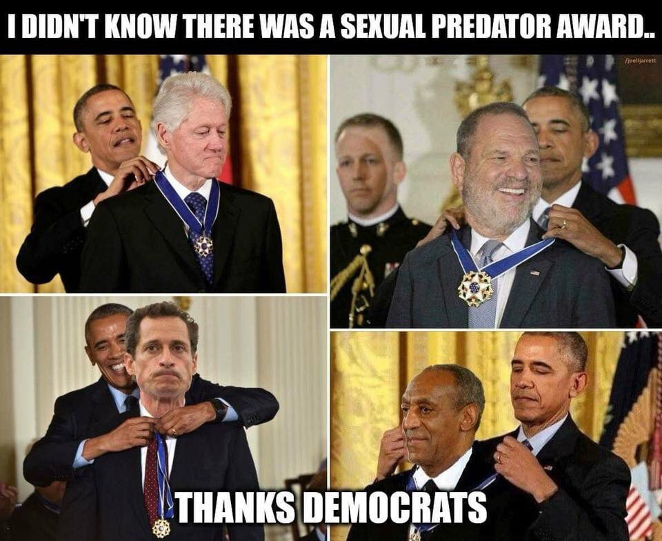 Imagine that!!!!! Thank you @HillaryClinton @MichelleObama you did a fine job protecting women #truthcomesout #RapistBill #AnthonyWeiner <br>http://pic.twitter.com/E5rb7D1akm
