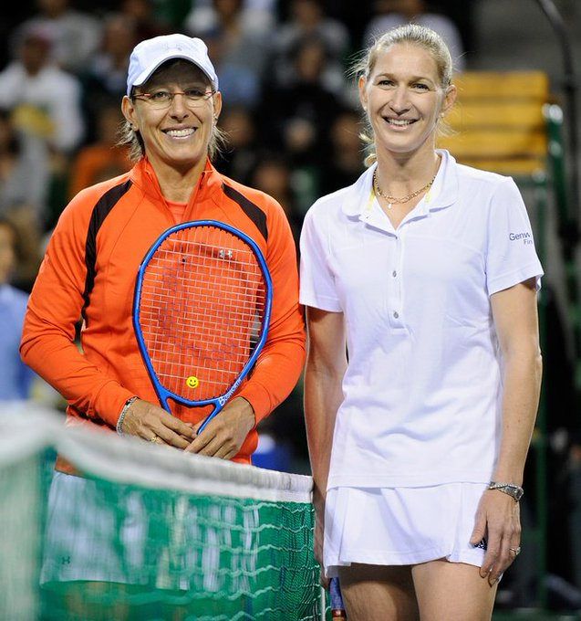 A very Happy Birthday to one of Steffi\s greatest rivals, the one and only Martina Navratilova!