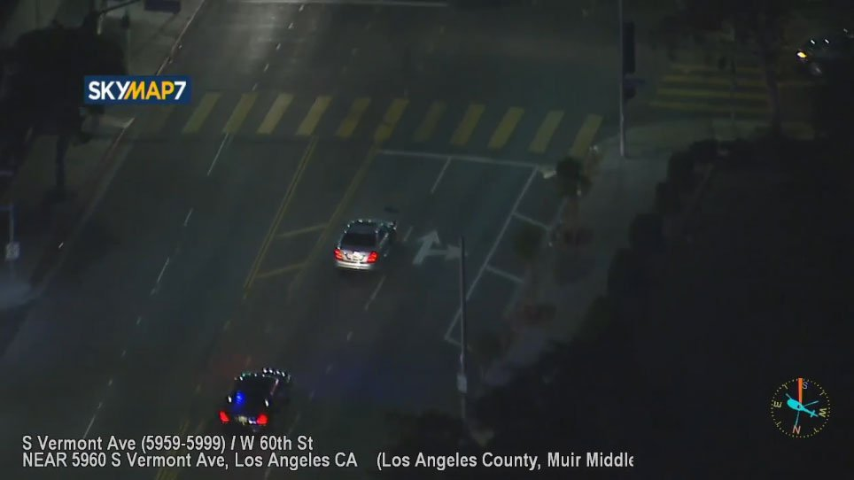 WATCH #LIVE: Authorities chasing suspect on surface streets in South Los Angeles https://t.co/TxMSbTKVFr