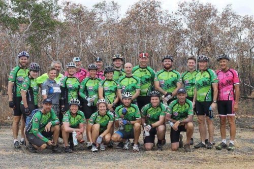 Community minded Cairns cycle for a caus...
