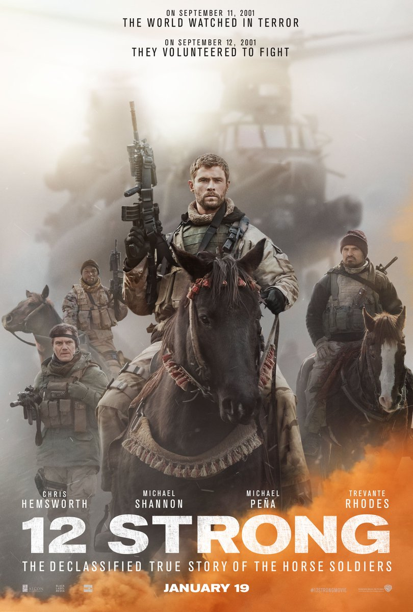 12 Strong Movie Download Full HD 2017 720P