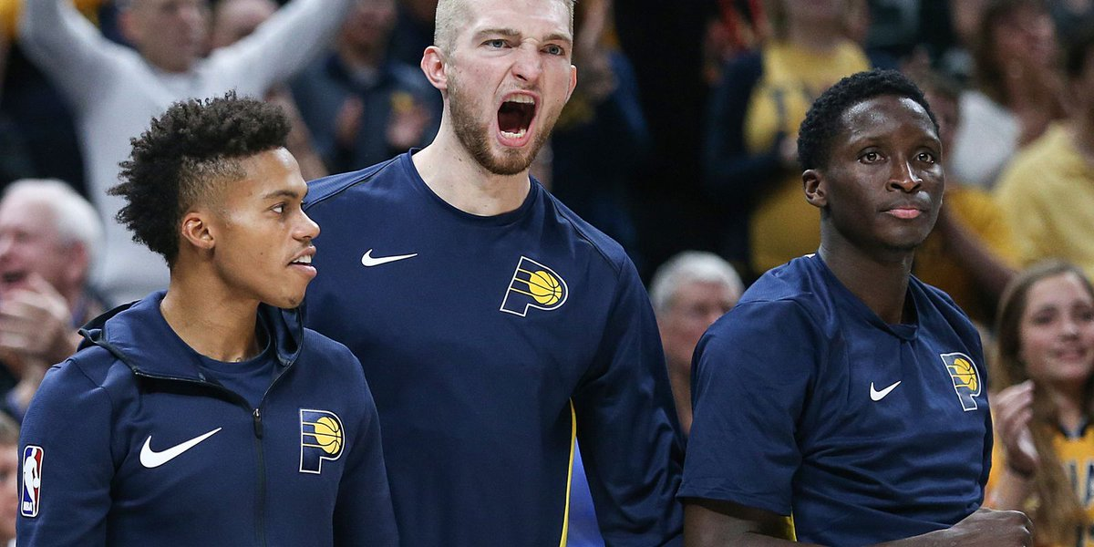 Pacers' Thad Young after season-opening win: 'We stole' Damontas Sabonis from Thunder https://t.co/oPURBKkBbP