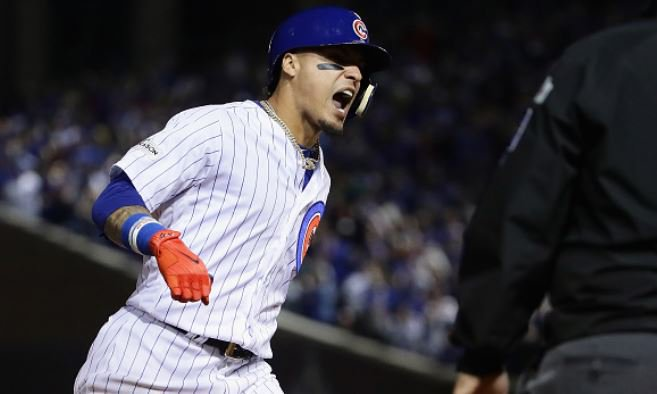 The Chicago Cubs force another game as they defeat the Los Angeles Dodgers 3-2. LA leads the #NLCS 3-1.