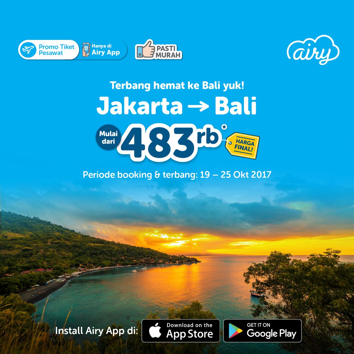 Airy Indonesia On Twitter Cari Tiket Murah Ke Bali Temukan Dan