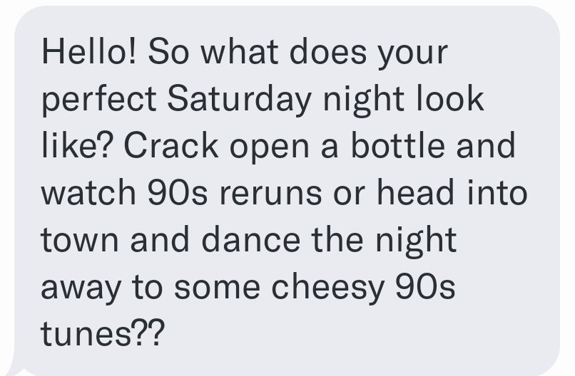 What if I didn&#39;t like the 90s? This would never work out!   #onlinedating  #90sorbust<br>http://pic.twitter.com/oqC4J3uk7i