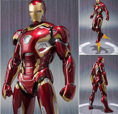 #comics  Iron man movable action figure https://t.co/HDphHQdFMm https:...