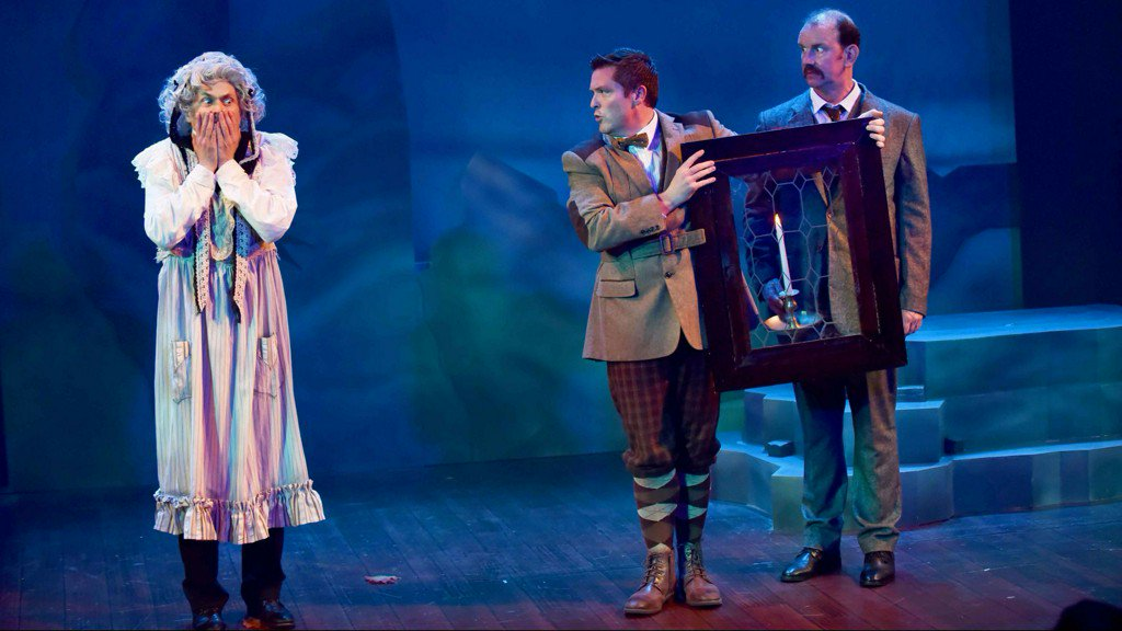 Review: In 'Baskervilles,' talented trio make fun look, well, elementary https://t.co/n0afGtwGOc
