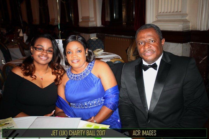 Mrs Angella Rose-Howell (Deputy Jamaican High Commissioner); Mr Byron Howell &amp; Tashna-Kaye Howell at #JET-UK Gala. <br>http://pic.twitter.com/iHowNETgsy