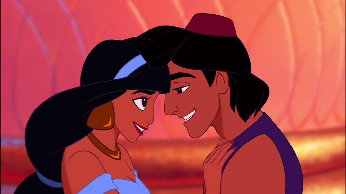 Aladdin (1992), Sleeping Beauty (1958), Frozen (2013), Mulan (1998). h...
