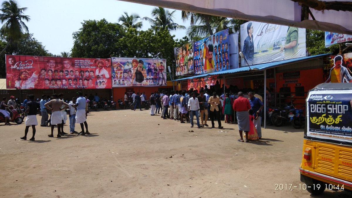 #Mersal   working day morning show #FULL  #murugaramuKKL<br>http://pic.twitter.com/yPy1svuivV