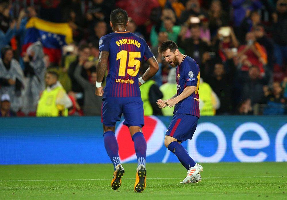 Bakü'de tarihi akşam, 100'lük Messi, 18'lik Svilar... (Devler Ligi'nde...