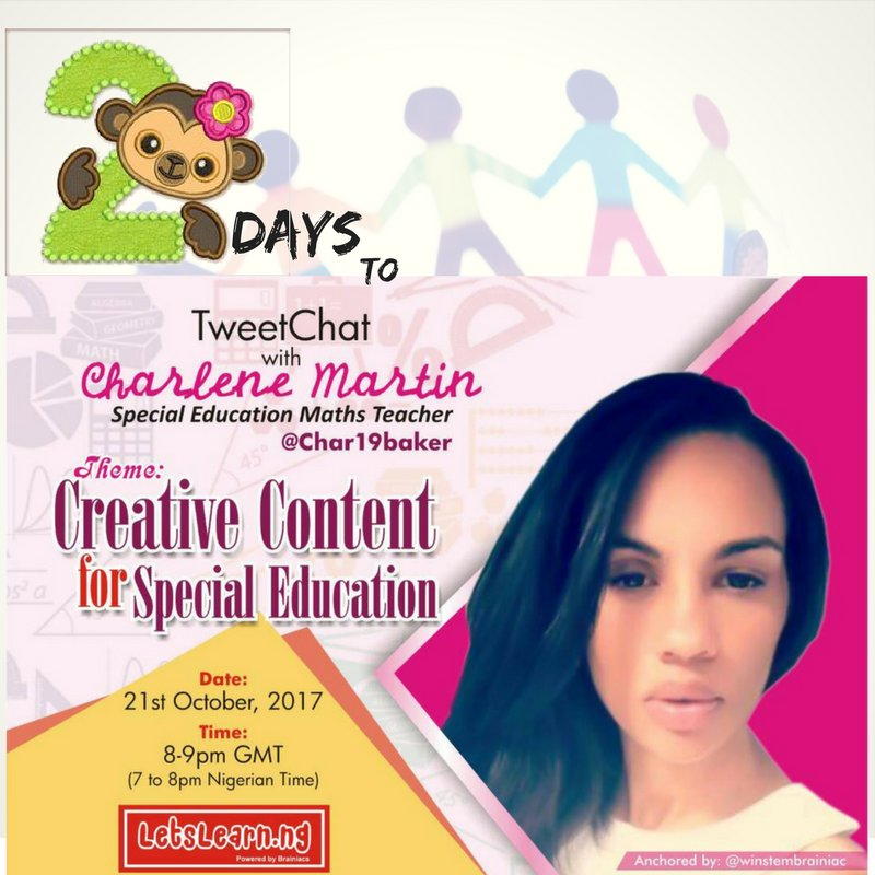 Are you a #SpecialEducation #teacher/#educator/#tutor  Don&#39;t miss our #tweetchat on #SEND. A @letslearn_ng #tweetchat series.<br>http://pic.twitter.com/irHaRFJRrU